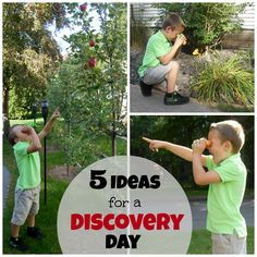 5 Ideas for a DISCOVERY DAY!