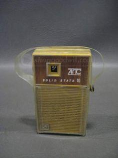 Vintage AITC Solid State Transistor Radio