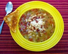The Weekend Gourmet: Budget-Friendly #SundaySupper...Featuring Comforting White Bean-Pancetta Soup