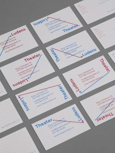 visual identity for Theatre Ludens / designed by 2 ONS