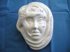 JC Star Shine Mask Ceramics by JCArtandCeramics on Etsy, $8.00