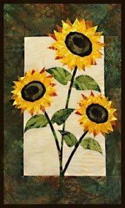 sunflower wall quilts