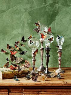 butterfli, lightbulb diy, fall crafts, lightbulbs crafts, candlestick, diy lightbulbs, lightbulb crafts, moth craft, diy halloween decorations