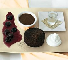 Deconstructed Black Forest Cake by Gale Gand. For more recipes by Gale Gand check out her book GALE GAND'S LUNCH! (April 2014)