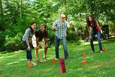 Kubb (aka Viking Chess) Game Set #summer #yard #games
