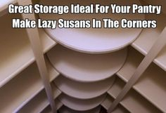 Make Lazy Susan's In