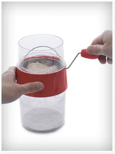 Measuring Flour Sifter - Baking Accessories