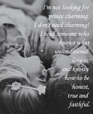 Don't need Prince Charming.