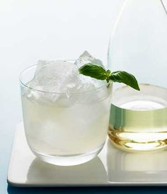GREY GOOSE® Vodka | Basil & Key Lime Gimlet
