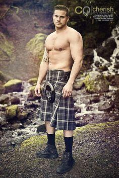 4/13/14  12:20a  Men in Kilts: Highlands Chest Bare Primal  2014 Calendar  Flickr