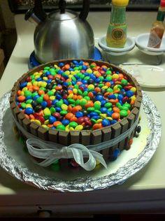 M Easter Cake