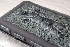 Han Solo in Carbonite Cake