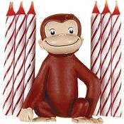 Curious George figurine for the top cake