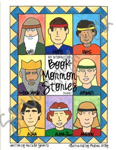 The BEST Book of Mormon for Kids on the market!