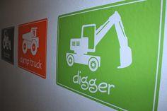 Big machines size large vinyl wall decals by vineyardvinyl on etsy