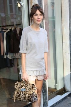 Styling tips from Alexa Chung