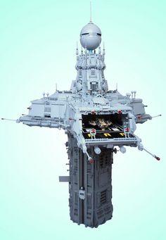 Custom-built 'Triport Spire' puts our Lego skills toshame