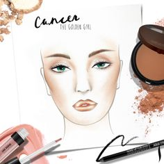 Happy birthday, Cancers! Tap into your romantic side this July and glisten in all-over gold. Get your step-by-step zodiac beauty look and pick up your free gift from #MAKEUPFOREVER online or in store. #Sephora #HowTo #makeuptutorial