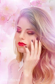 Sakura inspired makeup 3