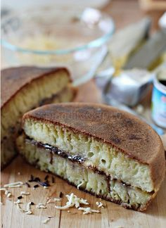 Martabak Manis | also known as the Moon Cake #IndonesianCulinary http://www.flickr.com/photos/pinodita/4400566353/in/set-72157624878342436