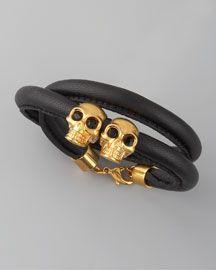 Love this Alexander McQueen bracelet!!