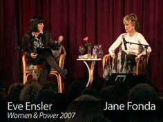 Jane Fonda: Our Sons. Oscar Award winning actress and social change activist, Jane Fonda talks to Eve Ensler about the importance of raising...