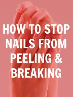 how to make your nails strong