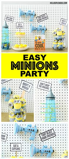 Minions party - Easy