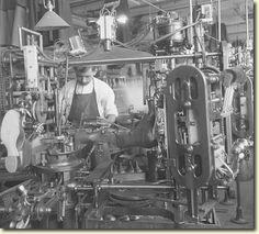 Shoe finishing, Endicott Johnson Plant, Endicott NY. 1917
