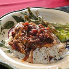 great chicken recipe, can be done in a slow cooker. Click for recipe
