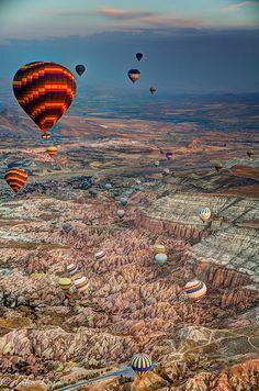 The Great Ascent of Cappadocia Hot Air Balloon, Turkey