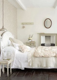 ❥ white bedroom