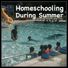 Do you homeschool during the summer?