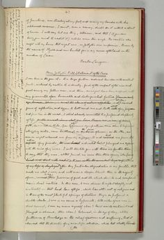 A Manuscript Page From Robert Louis Stevenson's Strange Case Of Dr. Jekyll And Mr. Hyde