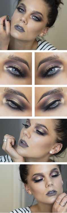 Grey lips