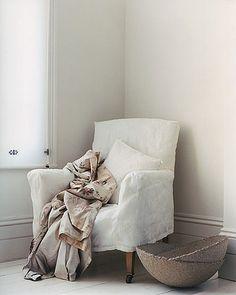 White chair #natural