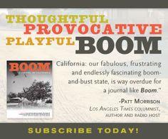 The Boom List « Boom: A Journal of California