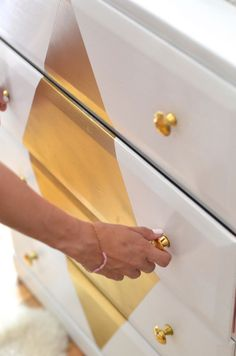 Refinished Dresser DIY by Claire Zinnecker | Camille Styles