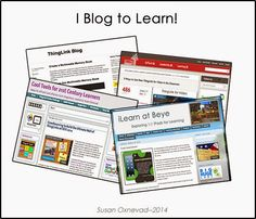 Great tips and reasons why you and your students should be blogging.