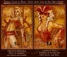 Historical Pirate women 3 by Bohemian Weasel