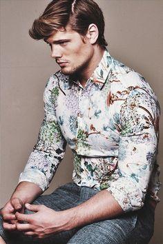 forest print shirt