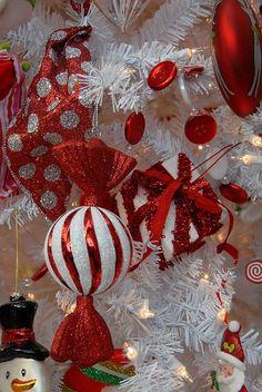 glitter ornaments, art prints, candi cane, 105 photograph, white christma