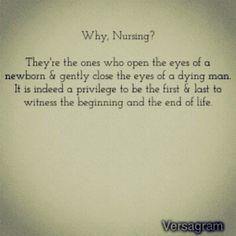 Why Nursing?