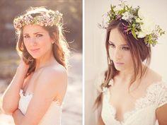 kopfschmuck frisuren braut headpieces on pinterest floral crowns. Black Bedroom Furniture Sets. Home Design Ideas