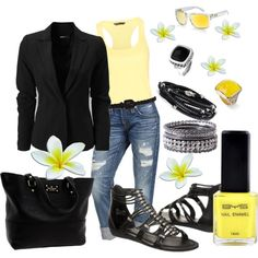 Black and yellow :)