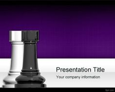 Chess Towers PowerPoint Template is a free strategy PPT template slide that can also be used in business for strategy and planning PowerPoint presentations #chess #tower #powerpoint #design #strategy
