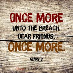 Find this #Shakespeare quote from Henry V at folgerdigitaltexts.org #FolgerDigitalTexts