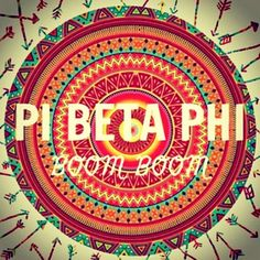 In love with this Pi Beta Phi print! Print out fun #piphi prints and frame them for some #pibetaphi inspiration in your room. #PBP
