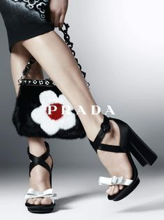 Prada SS 2013. Love the shoes and the purse!