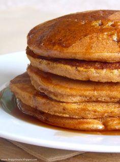 Pumpkin Spice Cake Mix Pancakes